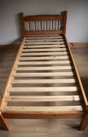 Solid Pine Bed Frame Julian Bowen Pickwick 3ft Single Solid Pine Wooden Bed Frame In