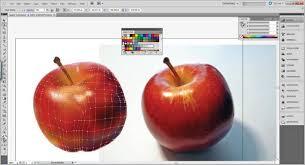 tutorial illustrator gradient ai gradient mesh tutorial a beautiful apple clipping path zone blog