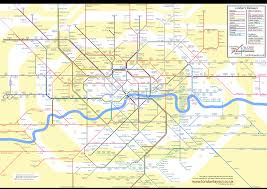 England Train Map by London Layout Alternative Maps For London Transport