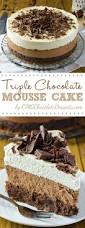 one of the most decadent chocolate cakes ever u2013 triple chocolate