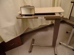 hospital bed tray table hospital bed tray table with mirror