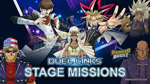 yu gi oh duel links stage missions list of stage mission rewards
