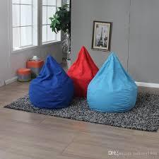 2018 single person chair drop shape bean bag sofa chairs couch