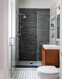 appealing small bathroom with shower designs featuring wall shower
