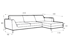 allegra italian leather set 2 sofa with chaiselongue aflair for home