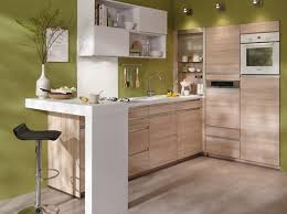 petites cuisines am ag s cuisine en bois conforama cuisines idees deco