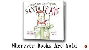 santa cat book trailer youtube