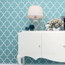 aquamarine moroccan wall stencils allover wall stencil wall