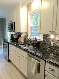 Kitchen Cabinets Black And White Moon White Granite Dark Kitchen Cabinets Kitchen Ideas