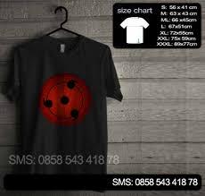 Baju Original baju kaos sharingan original nr16 baju kaos distro murah