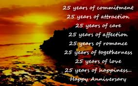 wedding quotes message 25th anniversary wishes silver jubilee wedding anniversary quotes