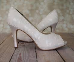 lace ivory wedding shoes ivory lace wedding shoes ellie wren
