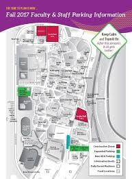 Sacramento State University Map by Faculty Staff Commute Resources