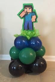 minecraft balloons minecraft balloon centerpiece balloon decorations