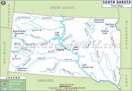 South Dakota lakes images South dakota rivers map rivers in south dakota jpg