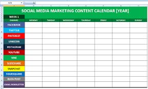 social media planner social media calender template excel 2014 editorial planner for