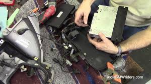 bmw k1200lt diy radio replacement youtube