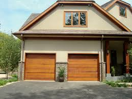 garage houses with wood garage doors modern house garage