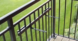 balcony railing shelf kit u2013 hold it mate