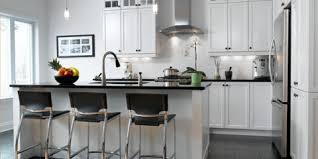 cuisine blanc et noyer portfolio de cuisines armoires cuisines