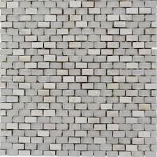 pearl lace shop 11 1 2 x12 paragon pearl lace mini brick pattern polished