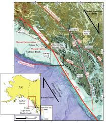 Sitka Alaska Map Earthquake Hazards In Southeastern Alaska Project Description