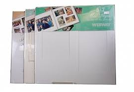 webway photo albums webway album refill page fw 1257r 12x12 inch page for 5x7 inch