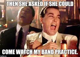 Meme Band - unwritten rule being in a band no yokos imgflip