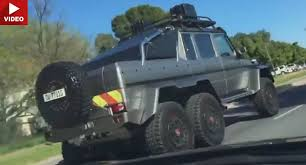 mercedes amg 6x6 price south motorist has priceless reaction after seeing a