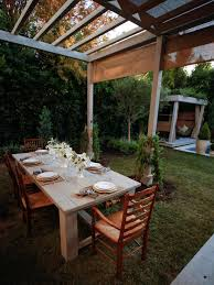 Pergola With Fabric by Photos The Outdoor Room With Jamie Durie Jamie Durie Home