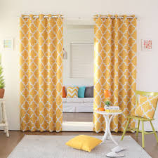 yellow grommet curtains furniture ideas deltaangelgroup