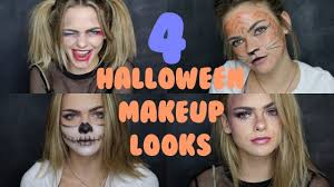 last minute halloween makeup ideas summer mckeen youtube