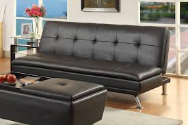 Faux Leather Futon Black Leather Sofa Bed Steal A Sofa Furniture Outlet Los Angeles Ca