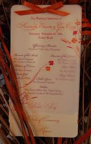 layered wedding programs layered wedding program nyc barbados