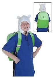 finn and jake halloween costume amazon com adventure time finn hood costume backpack sports