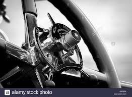 rolls royce steering wheel steering wheel controls of a vintage rolls royce car with a