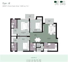 2 Bhk Flat Design by Perfect 3 Bedroom Apartment Floor Plans India Indian Style Sq Ft