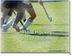 field hockey powerpoint templates