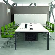 Grey Meeting Table Office X8 Meet Large Boardroom Table In Metal And Laminate