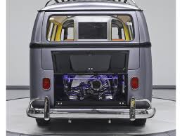 pink volkswagen van inside 1967 vw van gets a u0027back to the future u0027 makeover curbed