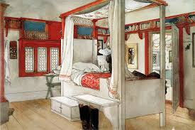 sweet swedish dreams the bedrooms of carl larsson apartment therapy