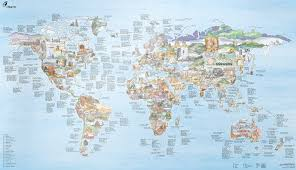 Bwca Map The World U0027s Favorite Climbing Areas In One Map