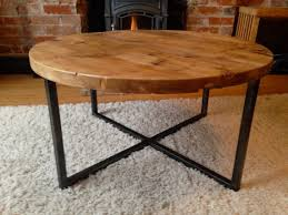 Woodworking Plans Round Coffee Table by Reclaimed Barn Wood Round Coffee Table With By Rivernorthdesigns