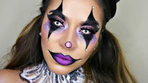 glam circus clown makeup tutorial halloween makeup youtube