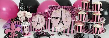 interior design best parisian themed party decorations small