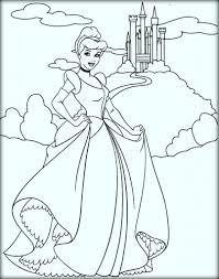 disney princess cinderella coloring pages color zini