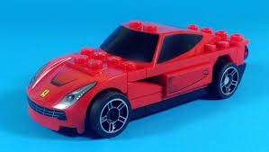 kereta ferrari shell lego ferrari f12 berlinetta car building instructions set