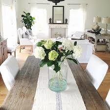 dining room table accessories a fresh neutral living country look with fresh white accessories if