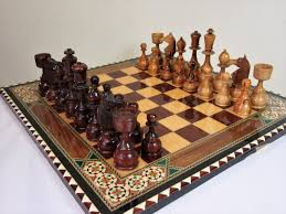 100 chess sets pug fawn chess set historical gold and