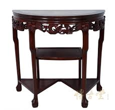 kitchen room design chinese antique rosewood half round entry kitchen room design chinese antique rosewood half round entry table moon marble top end tables circle kitchen hallway mesmerizing lamp occasional